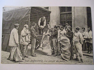 Berufe, Bäcker, Brotverteilung an der Front, 1. Weltkrieg (9144)
