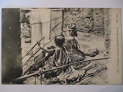 Berufe, Weben, Femmes Tissant le Burnous, ca. 1910  (35917)