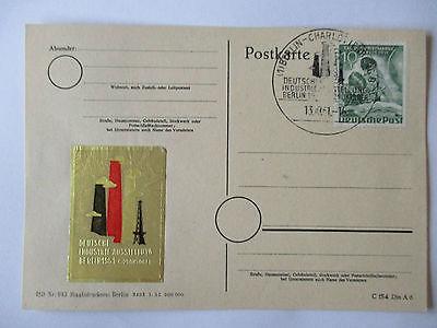 Berlin, Industrieausstellung 1951, Sonderkarte SST (37053)