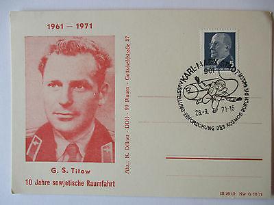 Raumfahrt, Astronaut G.S. Titow UDSSR, 1971 (49383)