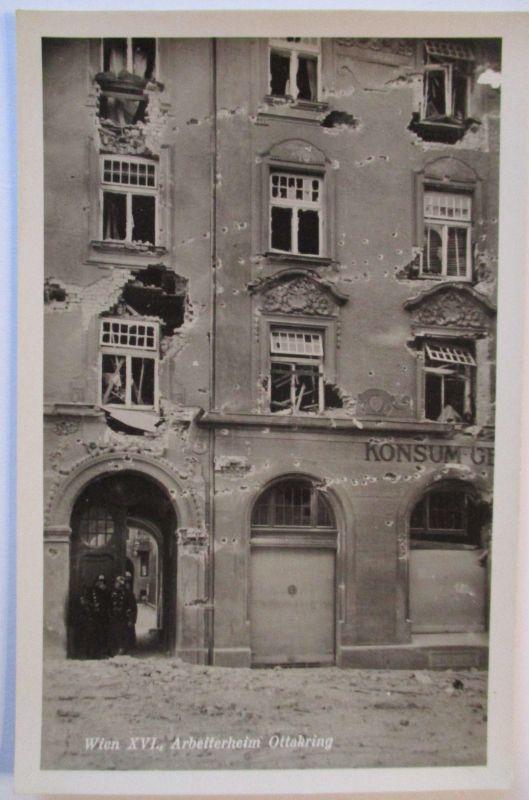 Österreich, Februar Kämpfe Revolte 1934 Wien Arbeiterheim Ottakring (48352)