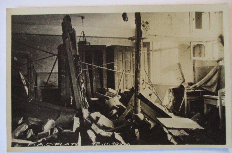 Österreich, Februar Kämpfe Revolte 1934, Wien, Haus am F.A.C. Platz (52814)