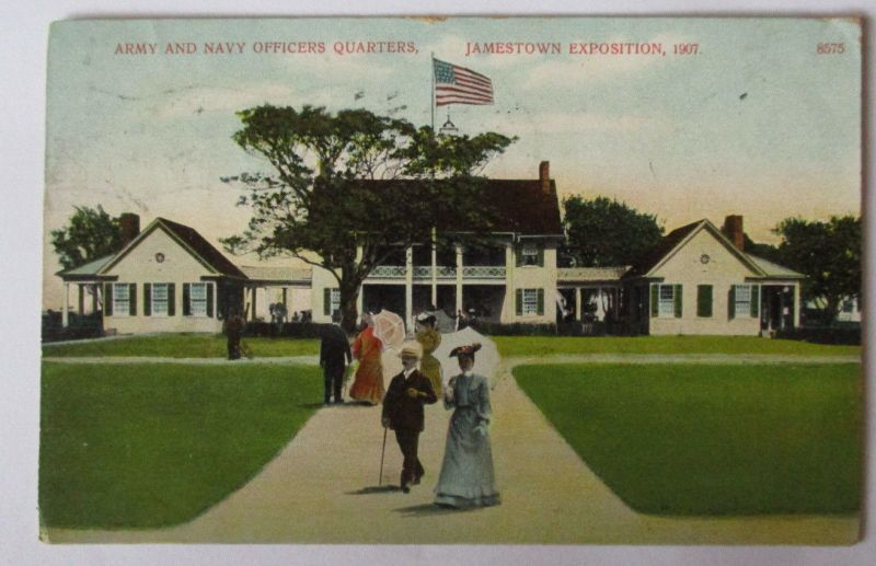 USA, Jamestown Exposition 1907, Navy Officers Quarters (33839)