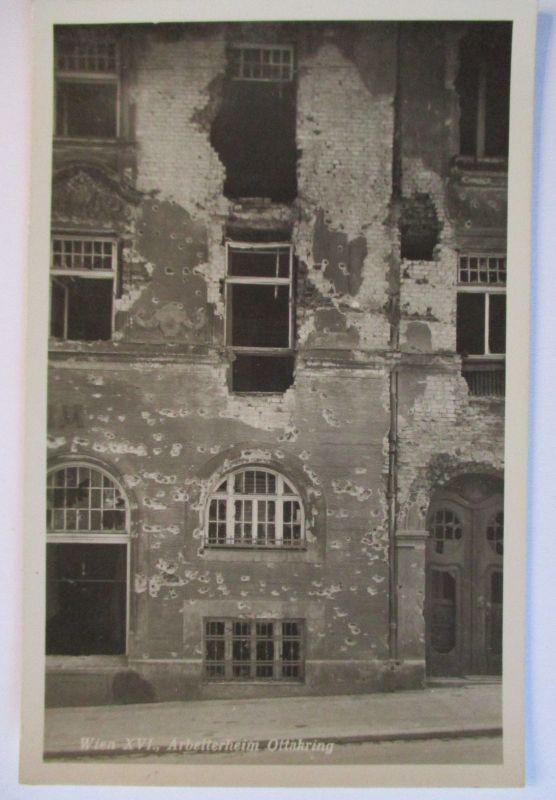 Österreich, Februar Kämpfe Revolte 1934, Wien, Arbeiterheim(53389)