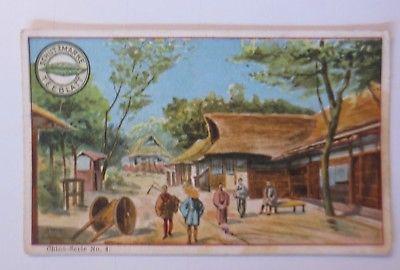 Kaufmannsbilder, Marke Teeblatt, Rudolph Seelig & Co, China, Nr.2 ♥ (48285)