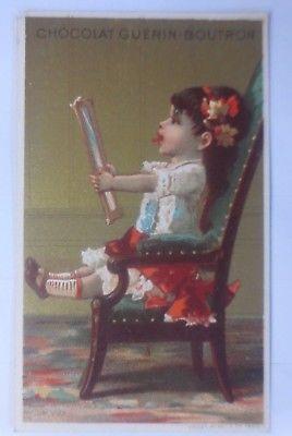 Sammelbild, Guerin-Boutron, Kinder, Mode, Spiegel, 1900, aus Paris  ♥ (59666)