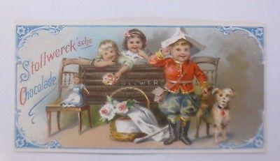 Stollwerk, Gruppe Nr. 3,  Nr.6,    Album Nr. 1,  Kinderspiele   1900  ♥ (59663)