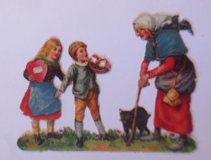 Neujahr, Schwein, Münzen, Rennen, Kinder, Zylinder,  1936  ♥ (66424)