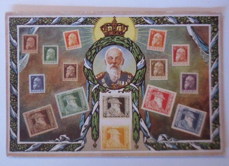 Briefmarken, Briefmarkensprache, Bayern,  1900  ♥   (66723)