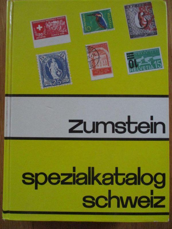 Schweiz, Zumstein Spezialkatalog 24. Auflage von 1992