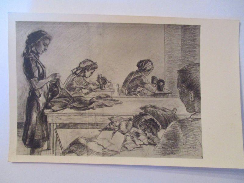 Berufe, Frauen, Nähen, Nähmaschine, Schneiderin, ca. 1930 (30624)