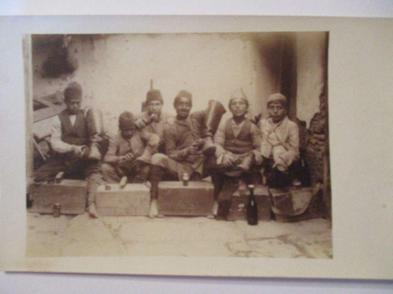 Berufe, Schuhputzer, Schuhe, Kinder, Fotokarte (37597)