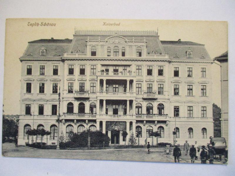 Tschechien, Teplitz Schönau, Teplice, Kaiserbad, ca. 1910 (46067)