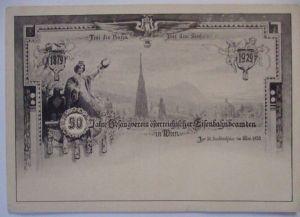 Österreich, Gesangsverein der Eisenbahnbeamten Wien 1929 (6891)