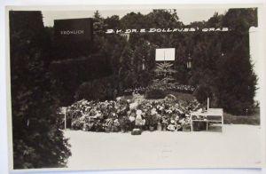 Österreich, Bundeskanzler Dr. Dollfuss Grab 1934 (24768)