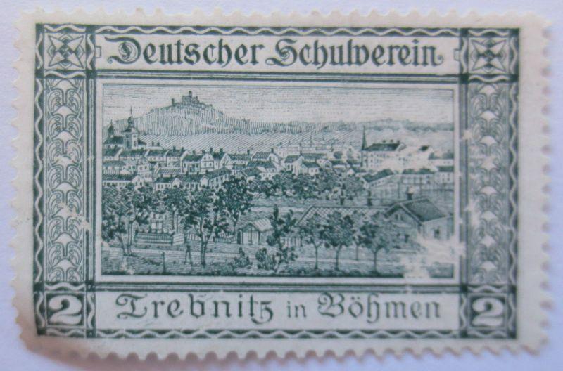 Österreich, Vignette Deutscher Schulverein, Trebnitz in Böhmen (28771)