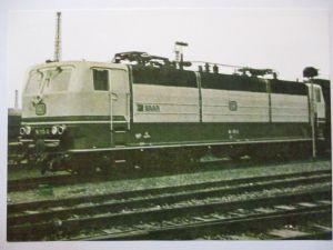 Eisenbahn, Bundesbahn Zweifrequenz Lokomotive, Opitz Privatganzsache (17899)