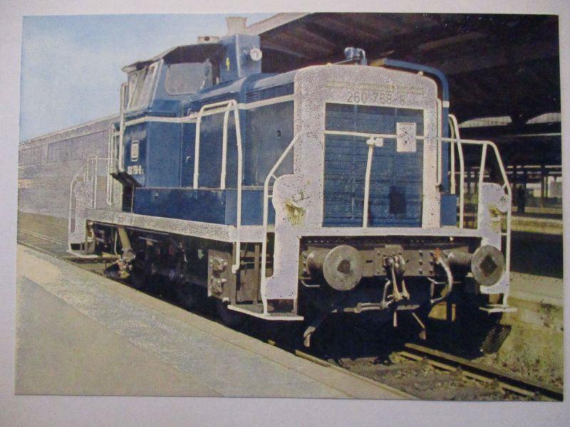 Eisenbahn, Bundesbahn Diesel-Lokomotive, Opitz Privatganzsache (848)