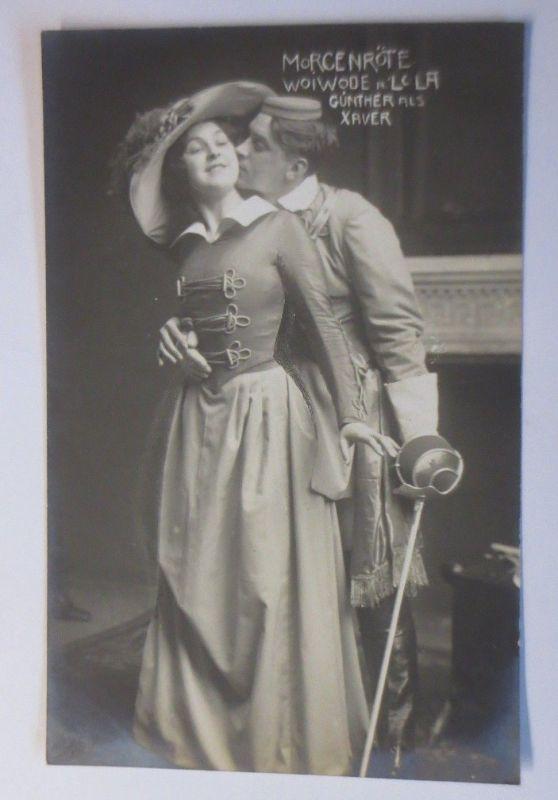 Österreich Schauspieler, Lina Woiwode, Lola, Günther als Xaver 1910  ♥ (51813)