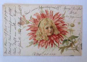 Kinder, Blume, Metamorphose,   1900, Lüdenscheid  ♥  (66839)