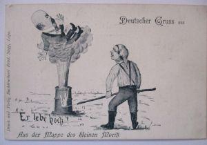 Österreich, Deutscher Gruss, Der Kleine Moritz Er lebe hoch (31944)