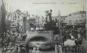 Frankreich, Carneval de Nice (Nizza), ca. 1910 (15723)