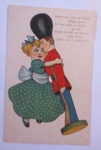 Kinder, Mode, Soldat, Spruch,   1908 ♥ (66772)