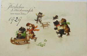 Künstlerkarte, Landschaft, Haus, See, 1916, Meissner & Buch ♥ (3070)