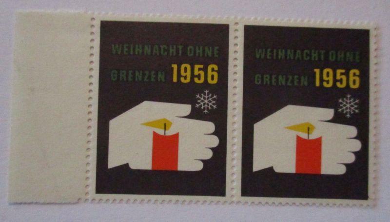 Weihnachten ohne Grenzen 1956, postfrisches Paar (14927)
