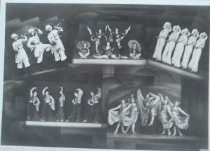 Zirkus, Manhardy Ballett, mit Monty Galicos, Akrobat, Exzentriker 1930 ♥ (19396)