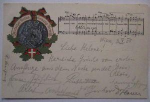 Deutscher Volks- Gesang Verein, 1901 aus Wien (57200)