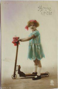 Glückwunschkärtchen, Oblaten, Engel, Blumen, Weihnachten, 1899 ♥ (2245)