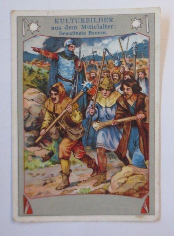 Kaufmannsbilder, Kulturbilder aus dem Mittelalter, Bewaffnete Bauern ♥ (49689)