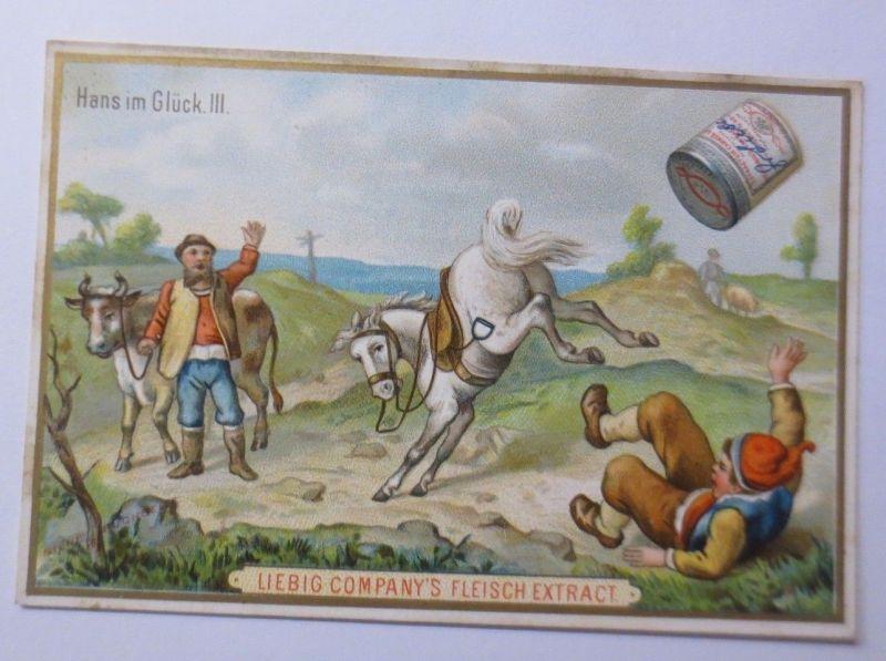 Kaufmannsbilder, Liebig, Hans im Glück, Märchen ♥ (42875)