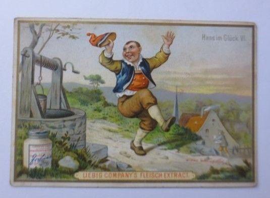 Kaufmannsbilder, Liebig, Hans im Glück, Märchen ♥ (7290)