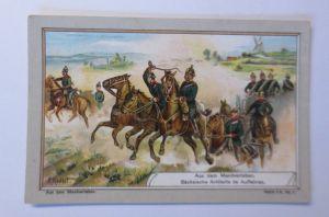 Kaufmannsbilder, Aus dem Manöverleben, Serie 416, Nr.5 ♥ (63971)