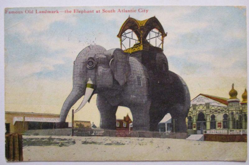 USA, Atlantic City, Lucy the Elephant, Elefant, 1909 (48181)