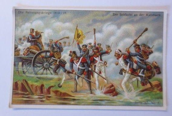 Kaufmannsbilder, Die Befreiungskriege 1813-15, Serie 767, Nr.2 ♥ (63937)