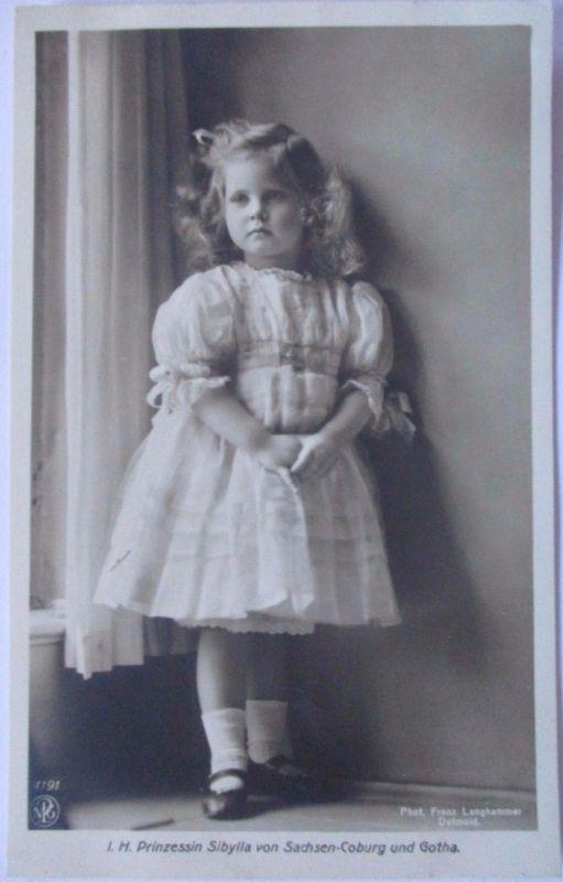 Sachsen Coburg Gotha, Prinzessin Sibylla (37744)