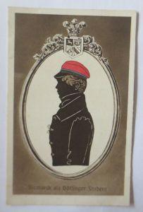 Studentika, Deutschtum im Ausland, Bismarck als Göttinger Student, 1910 ♥(64576)