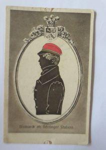 Studentika, Deutschtum im Ausland, Bismarck als Göttinger Student, 1910 ♥(64568)