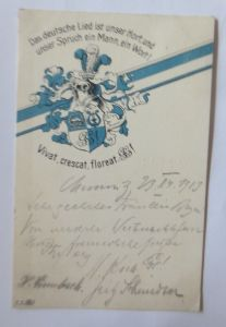 Studentika, Gymnasiasten-Gesangverein zu Chemnitz, 1913 ♥ (22885)