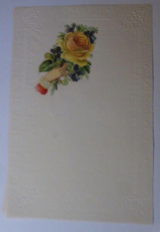 Briefpapier mit Oblate aus dem Jahr 1888, Ungebraucht ♥ (4 K)