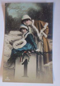Neujahr, Frauen, Kinder, Mode, Mantel Muff,      1916 ♥ (67618)