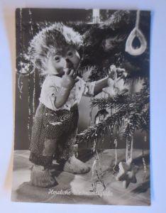 Mecki, Herzliche Weihnachtsgrüße,     1957 ♥ (67528)