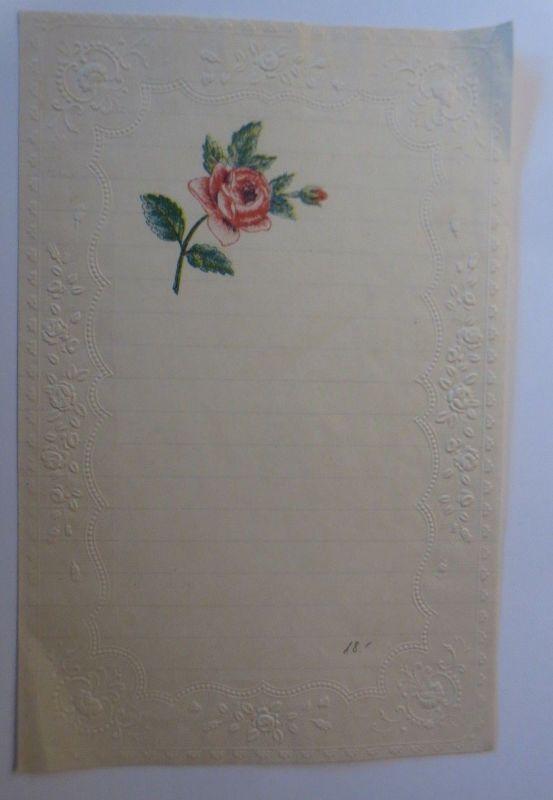Briefpapier aus dem Jahr 1888, Ungebraucht ♥ (14K)