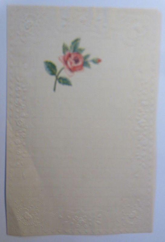 Briefpapier aus dem Jahr 1888, Ungebraucht ♥ (13K)