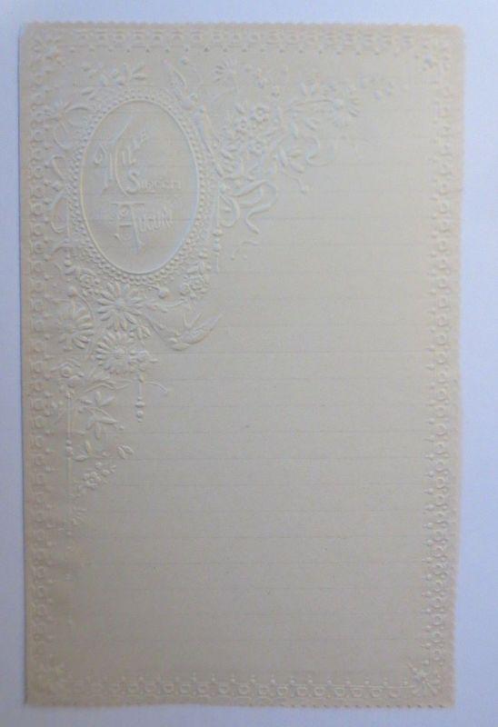 Briefpapier  aus dem Jahr 1888, Ungebraucht ♥ (9K)