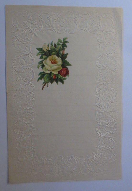 Briefpapier mit Oblate aus dem Jahr 1888, Ungebraucht ♥ (5 K)