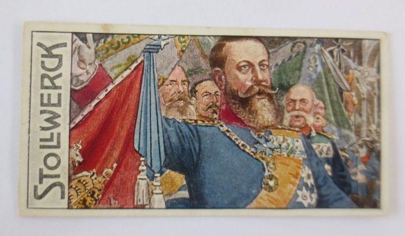 Stollwerck ,Großherzog Friedrich von Baden, Gruppe 441, Nr.6,Album Nr.10♥(67743)
